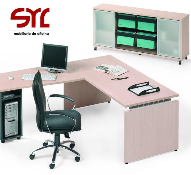 Mesa de trabajo modelo ceres de ismobel a la venta en for Muebles de oficina asturias