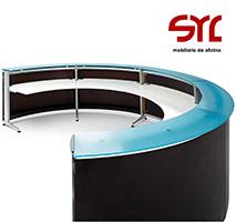 Mostrador y mesas de conferencia Modelo INFORMA