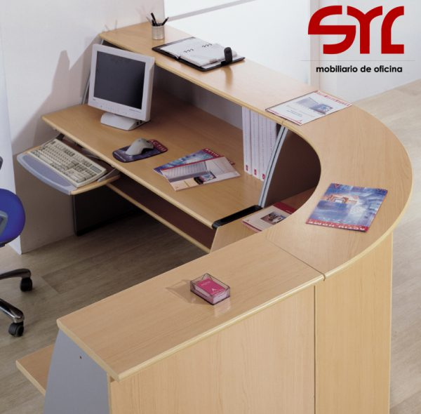 mostrador oficna modelo ofimat a la venta en muebles syl asturias