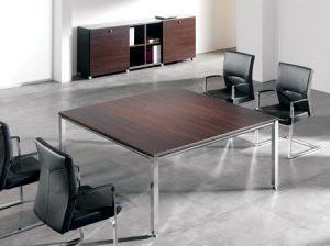 Mesa de reuniones Modelo VITAL cuadrada.-0