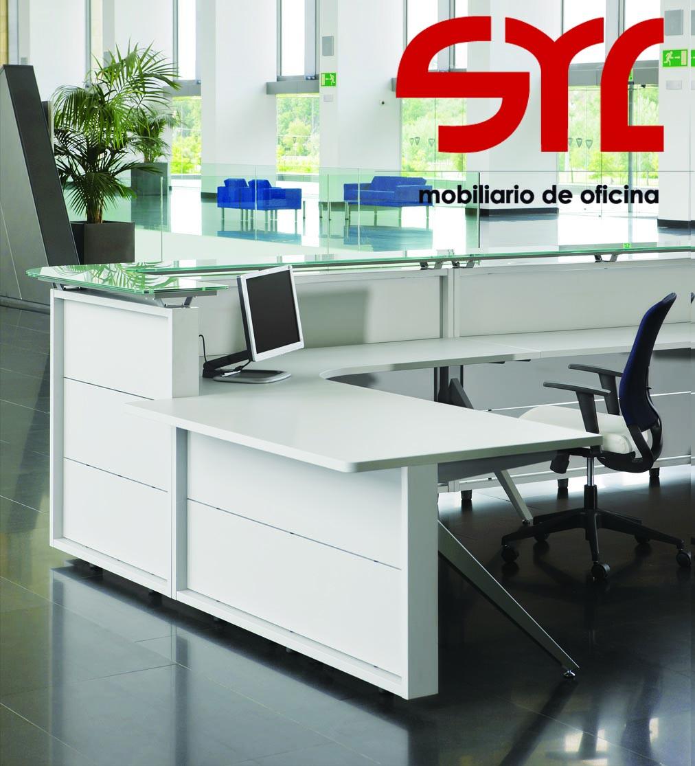 Mostrador oficina modelo public de ismobel muebles syl for Mobiliario de oficina recepcion
