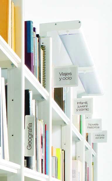 Estanteria de Biblioteca Modelo BIBLOS-0