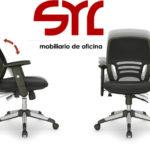 silla de oficina modelo iris de trabajo oviedo gijón
