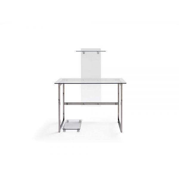 Mesa de ordenador Modelo KAPPA de cristal