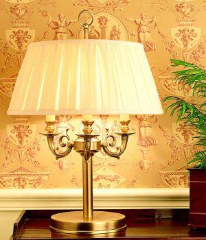 Lámpara de sobremesa clasica FLORENCIA