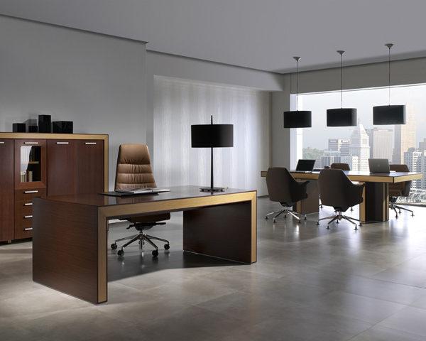 Mesa de direcci n modelo belesa de ofifran muebles syl - Despachos modernos ...
