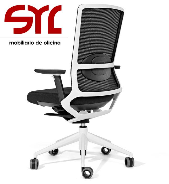 Silla de oficina modelo tnk 500 con respaldo de malla for Modelos de sillas para oficina