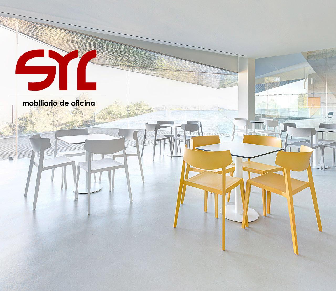 Mesas de cafeter a tabula de actiu a la venta en muebles syl for Mesas de cafeteria