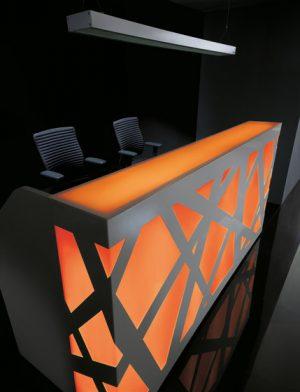 Mostrador de recepción Modelo ZIG ZAG