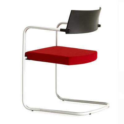 Silla confidente de oficina modelo ice muebles syl for Modelos de sillas para oficina