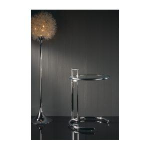 mesa de centro cristal bingo redonda