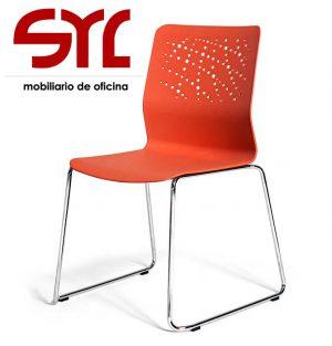 silla urban fija en colores