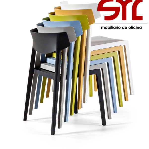 Silla modelo wing de actiu en asturias muebles syl for Muebles de oficina gijon