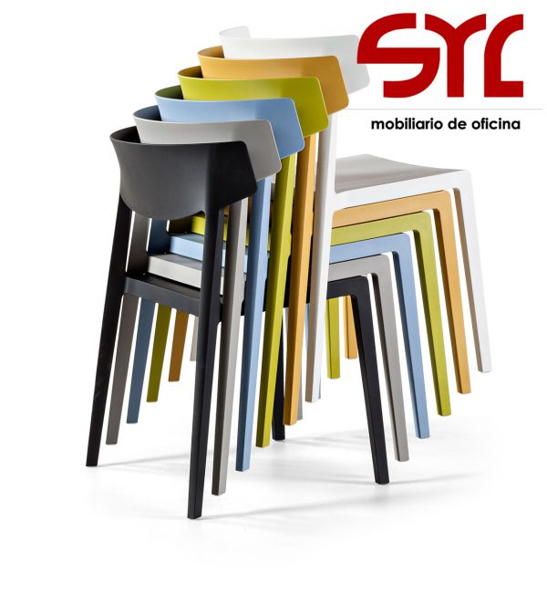 silla fija colectividades oviedo gijón para oficina