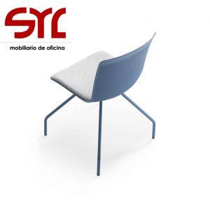 Sillas giratorias sofas bancadas modulos espera muebles syl for Silla glove forma 5