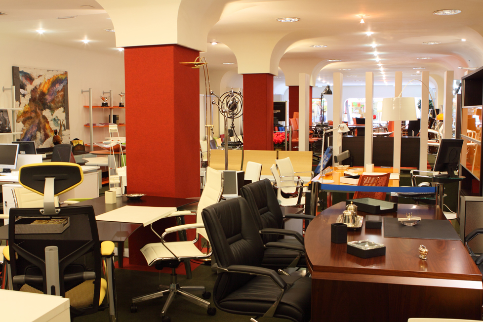 Mobiliario y equipamiento de oficina muebles syl for Muebles de oficina oviedo