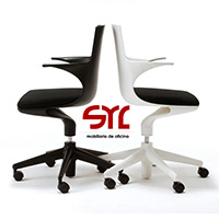 silla de oficina modelo spoon chair a la venta en muebles syl