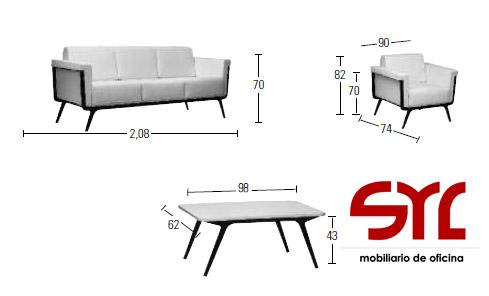 medidas del sofá glasgow a la venta en muebles syl asturias