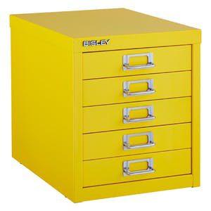 Cajones multidrawer Bisley para oficina en colores